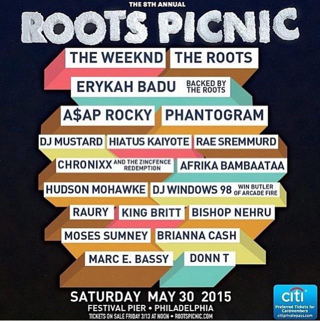 Roots Picnic lineup