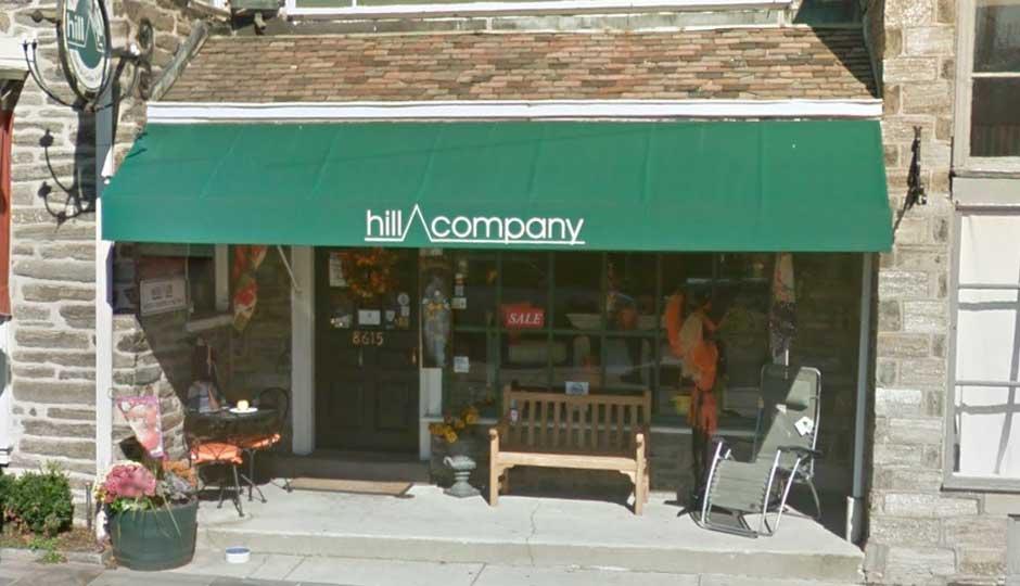 Hill Company's Germantown Avenue location.