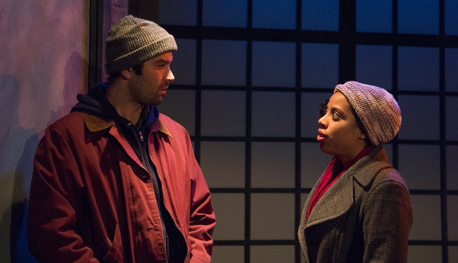 Kevin Meehan (left) in 'Moon Cave,' with Taysha Canales.