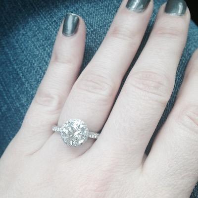 Kathleen's ring!
