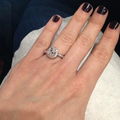 Sara's ring!