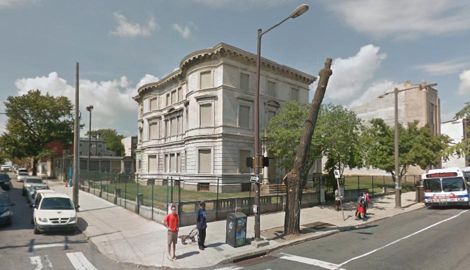 Burk Mansion | Google Street View, Sept. 2014