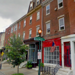1116 Pine is the one with the red storefront | Image via Google Street View