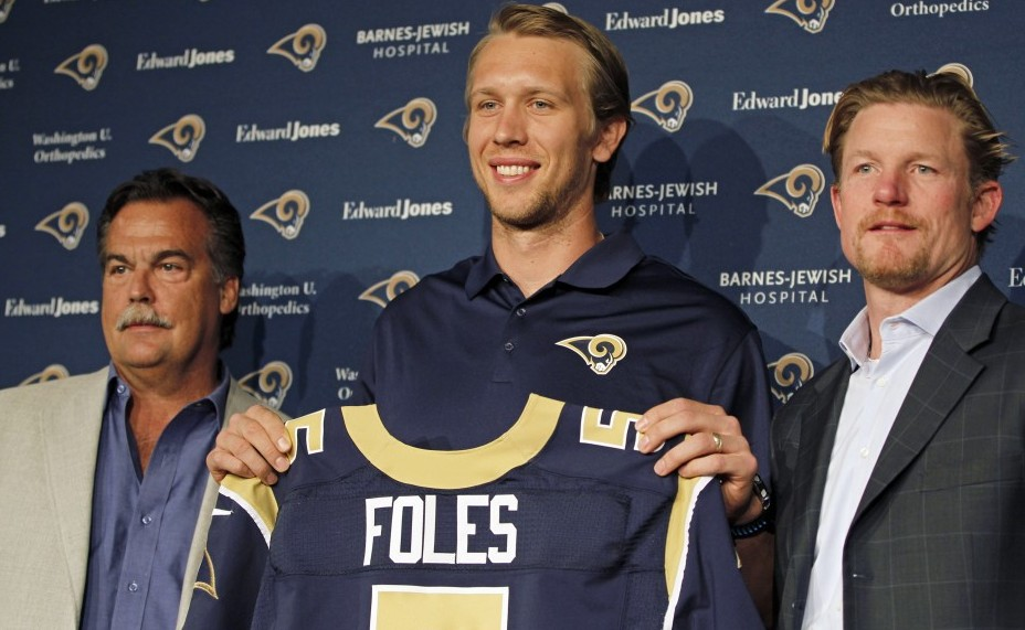 Nick Foles. Photo courtesy of USA Today