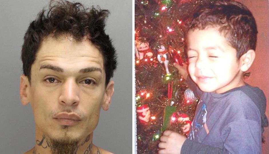 Carlos Manuel Lebron Jr., left, is accused of abducting  Yandel Ernesto Rosario, right.