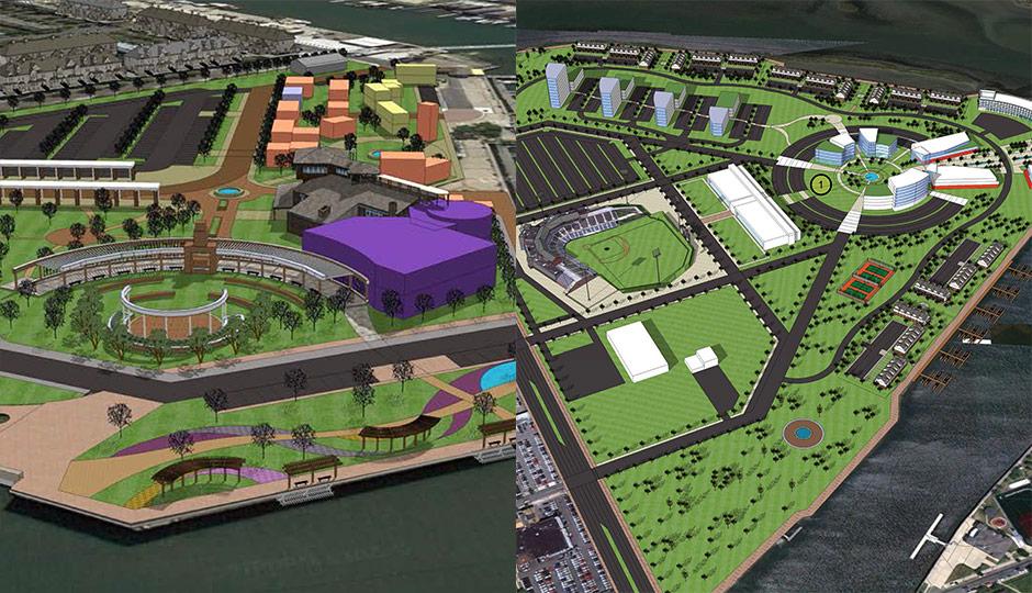 Atlantic City concept plans