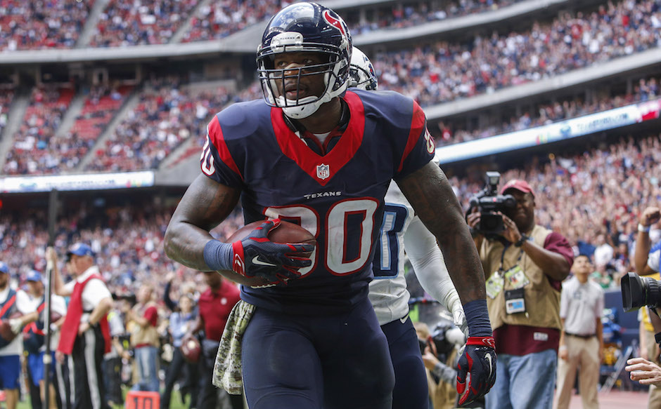 Andre Johnson. Troy Taormina/USA TODAY
