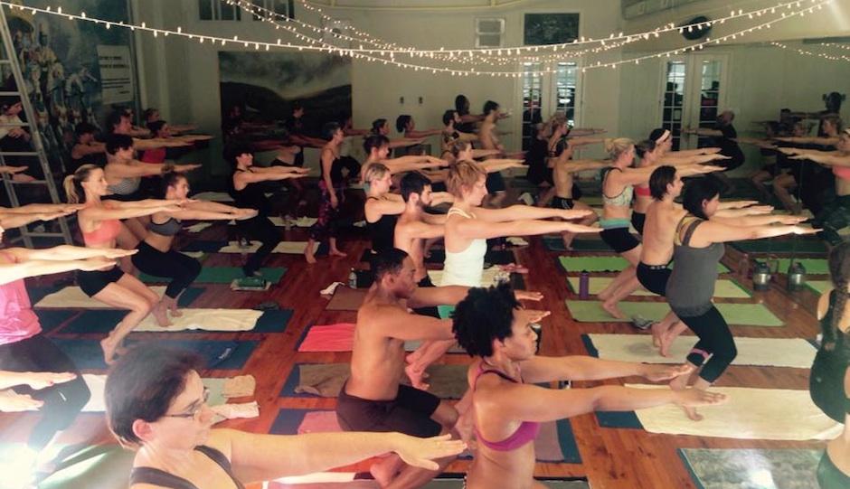 Bikram Yoga Philadelphia   Photo via Facebook