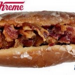 blue rocks krispy kreme hot dog