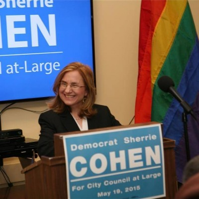 Philadelphia City Council-at-Large candidate Sherrie Cohen.