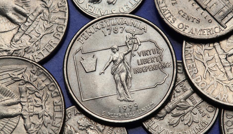 pennsylvania coins