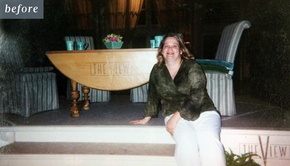 Jennifer Chapman at 230 pounds