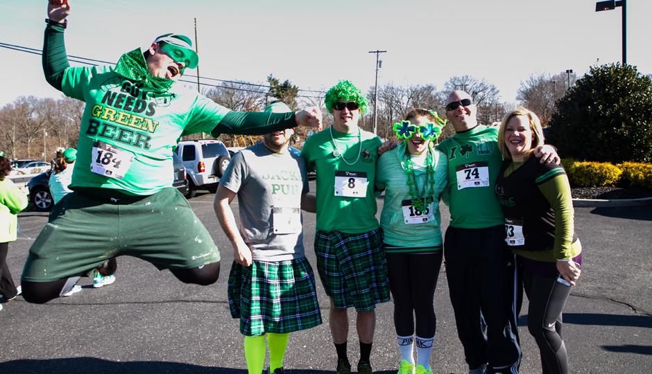 The Lucky Run | Photo via Good Day for a Run LLC