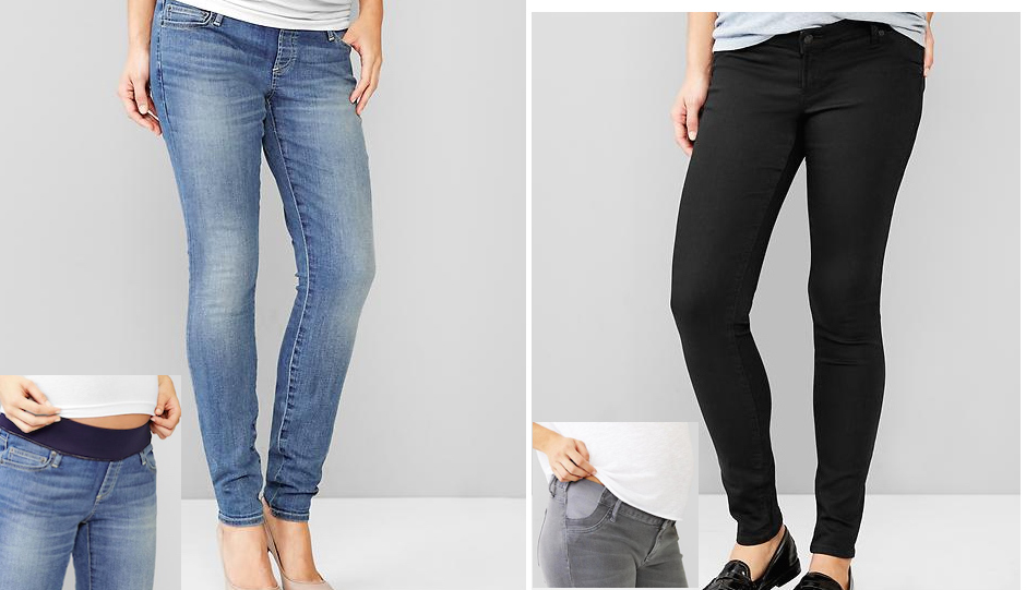 cdc4549fa59f5 Confession: I Wear Maternity Jeans Even Though I'm Not Pregnant