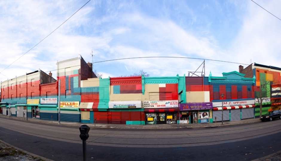 """A still from """"Philly Painting"""" one of the Mural Arts exhibits featured in Google's new street art initiative.   Photo by of Mural Arts"""