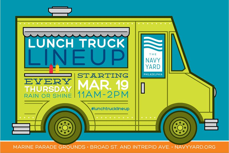 navy yard food trucks