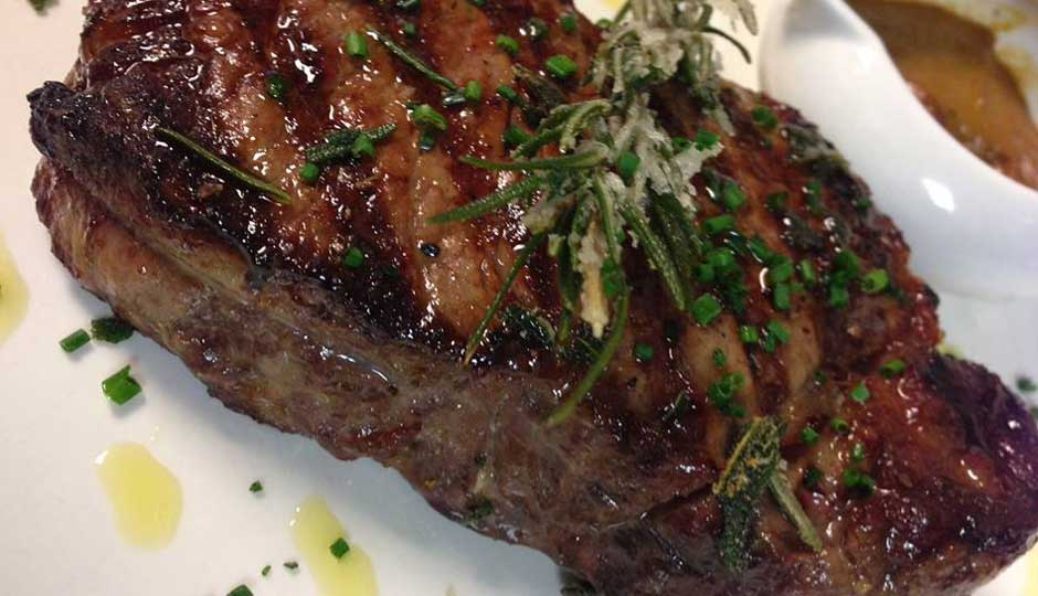 The Kobe Ribeye at Palladino's | Photo via Palladino's