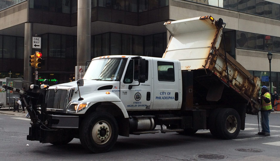 Philadelphia pothole filler