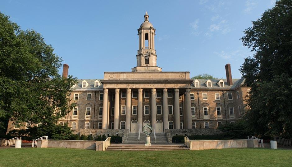 Penn State Old Main | Shutterstock.com