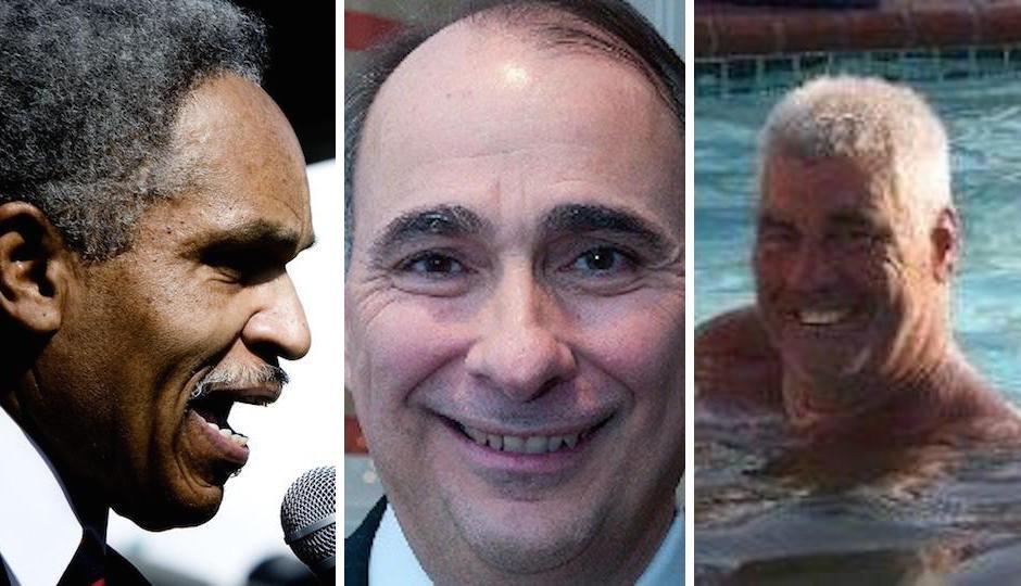John Street, David Axelrod, and Frank Keel.
