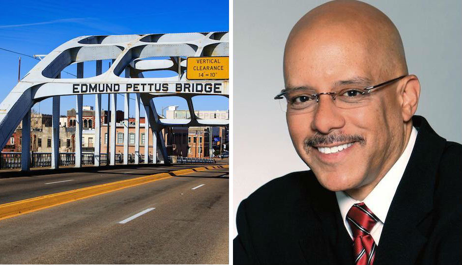 State Sen. Vincent Hughes say he is introducing a bill to pay homage to civil rights activists who tried to cross the Edmund Pettus bridge in 1965.