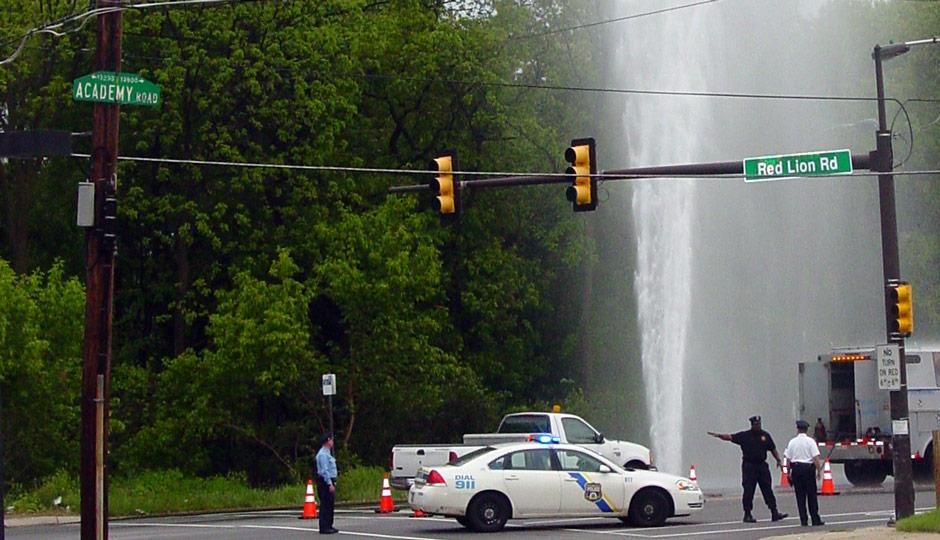 2009 water main break