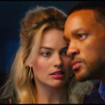 Will Smith and Margot Robbie in Focus.