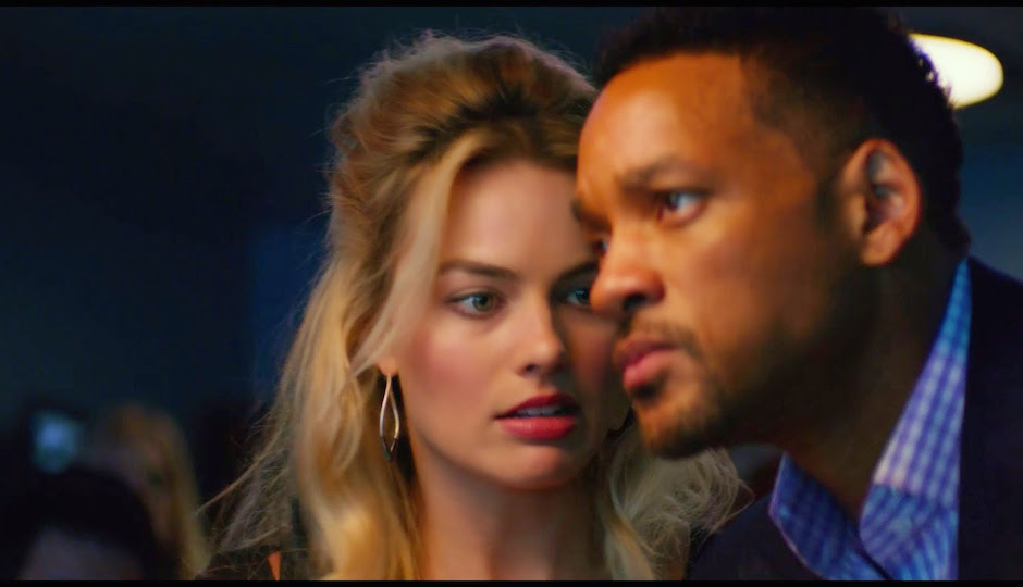 Will Smith out of focus, much like the whole film.