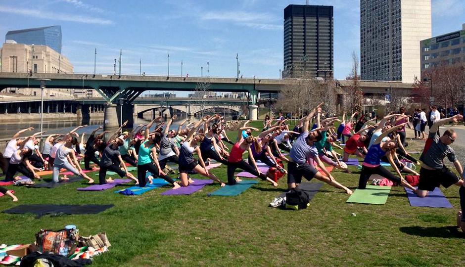 Yoga on the Banks