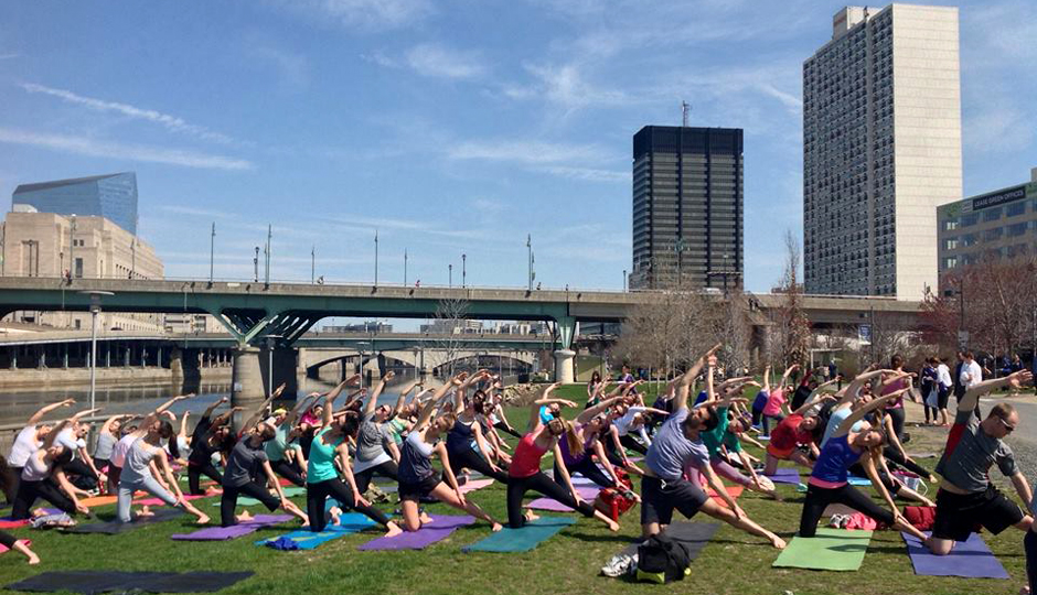 Yoga on the Banks