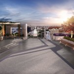 Rooftop terrace for the entire building, not the penthouse   via 500 Walnut