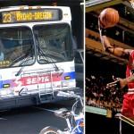 SEPTA Route 23 Bus and Michael Jordan