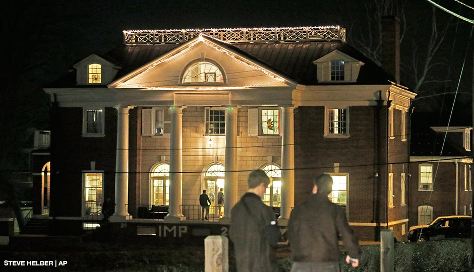 The Phi Kappa Psi house at the University of Virginia in Charlottesville, Va.