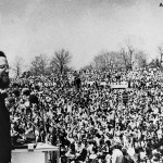 Ira Einhorn at the April 1970 celebration of EarthDay in Philadelphia.