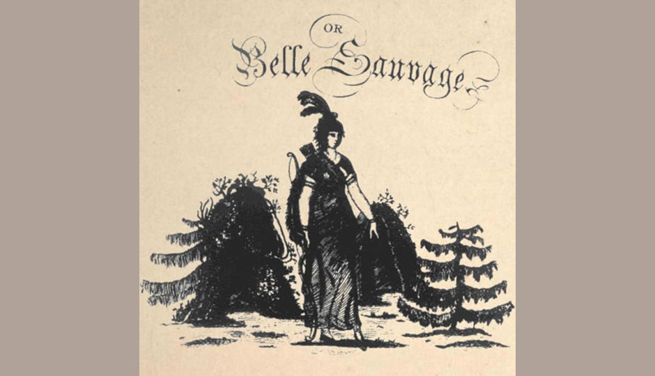 "The cover to John Bray's score of ""The Indian Princess, or La Belle Sauvage."""
