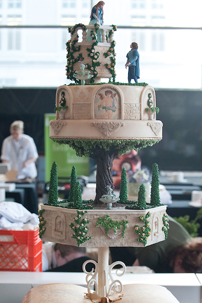 At Let Them Eat Cake, you'll be wowed by designs like this confection from last year's event.