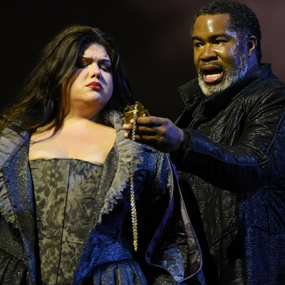 Leah Crocetto and Eric Owens in 'Don Carlo.'