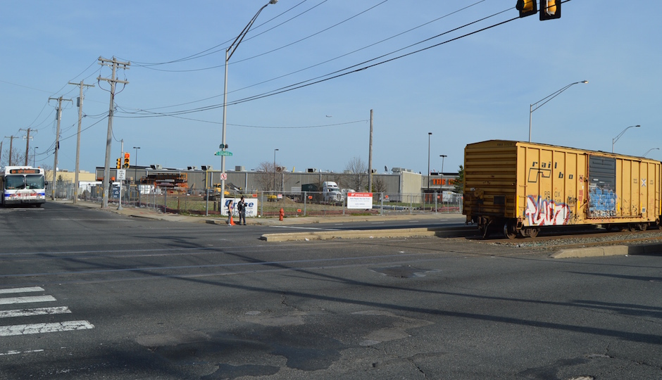 Here's the site at 1601 S. Columbus Blvd. |Photo: James Jennings