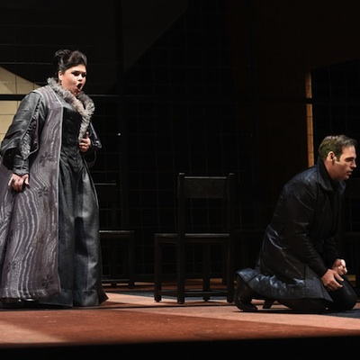 Leah Crocetto and Dimitri Pittas in Opera Philadelphia's 'Don Carlo'