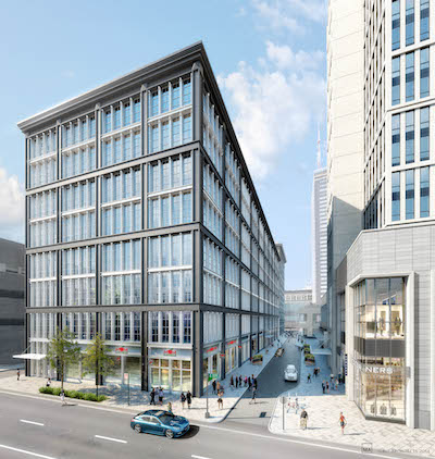 The new look building at 34 South 11th Street | Courtesy: SSH Real Estate