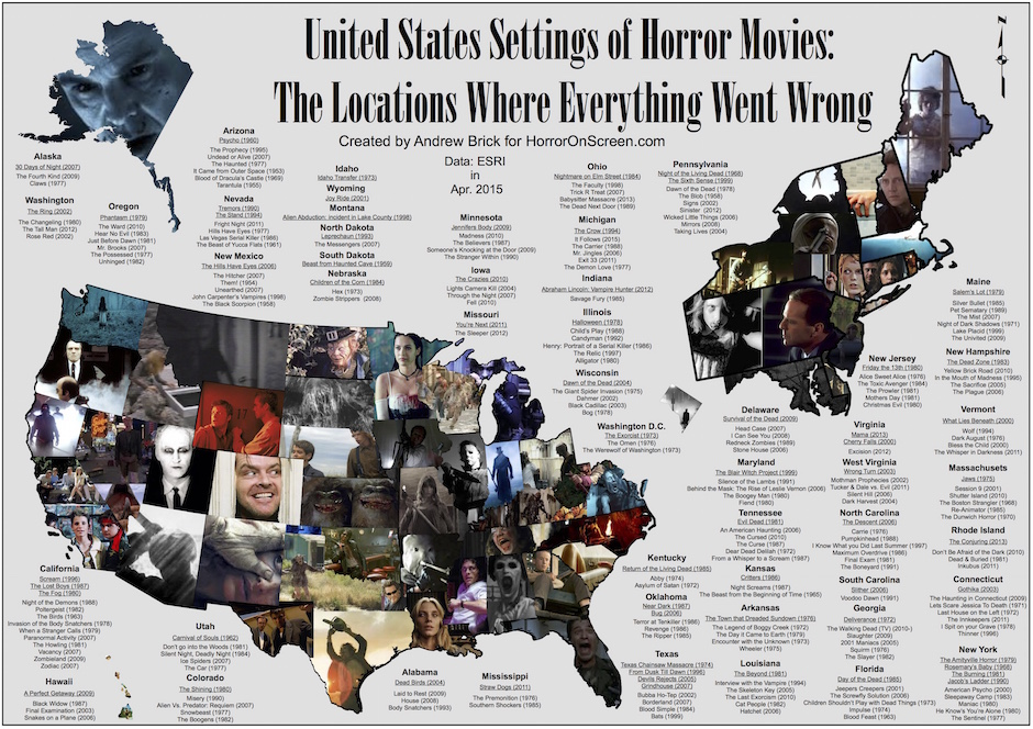 Horror-Map