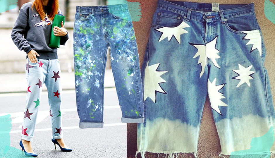 Can you repaint your jeans?