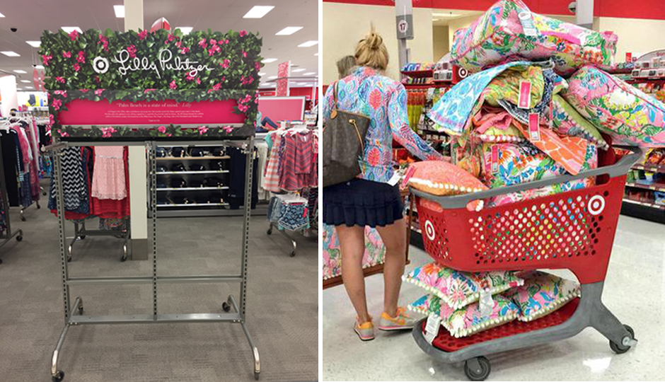 the 10 most insane lilly pulitzer for target auctions on