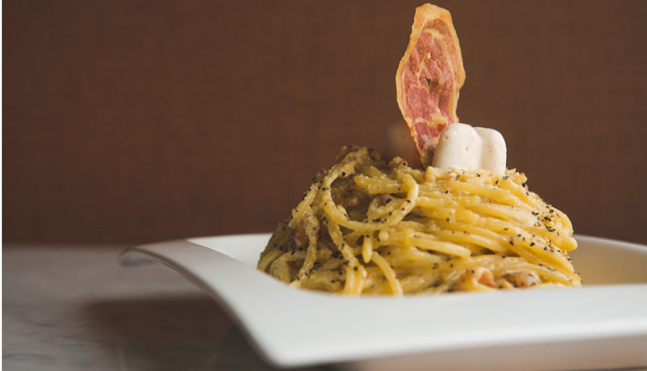 Spaghetti carbonara | Photo by Ryan Scott
