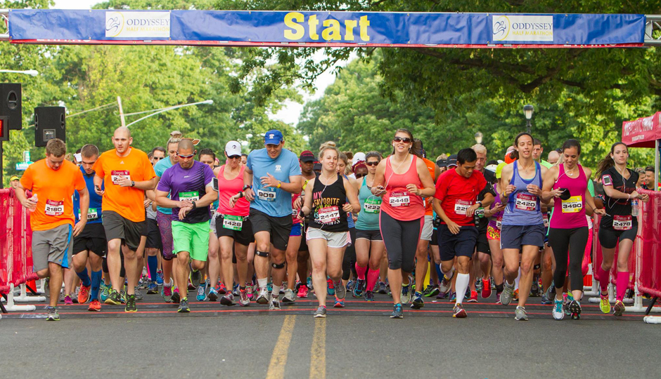 ODDysey Half Marathon   Photo via Facebook