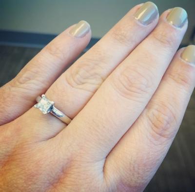 Maura's ring!