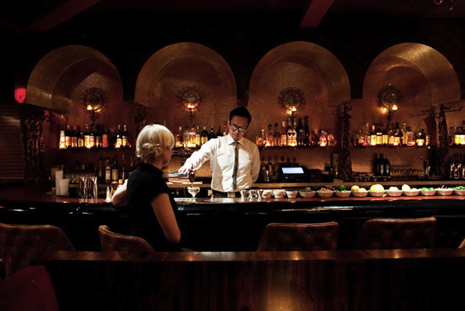 In the spirit of a speakeasy, there's no actual website for this Stephen Starr bar, which is located in the back of his El Rey restaurant, but don't be fooled: This dark, sexy spot is a great way to start a date night. The small watering hole features black leather booths and expert bartenders whipping up a host of memorable cocktails, plus you can snack on an assortment of goodies from the El Rey kitchen. It's not on the menu, but for a light drink that will get you buzzing, ask for the Ranstead Fruit Cup. You won't regret it.Sunday-Saturday, 6:30 pm to 2 am, Ranstead Room, 2013 Ranstead Street