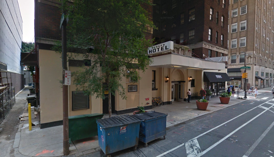 The Parker Spruce Hotel | via Google Street View