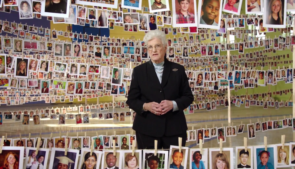 Screen grab of Lynne Abraham's new campaign ad.
