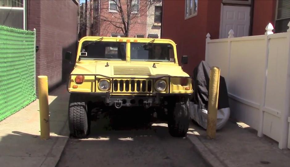 Screen grab from Doug DeMuro's video